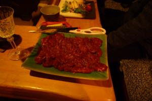 蝦夷鹿肉「生」